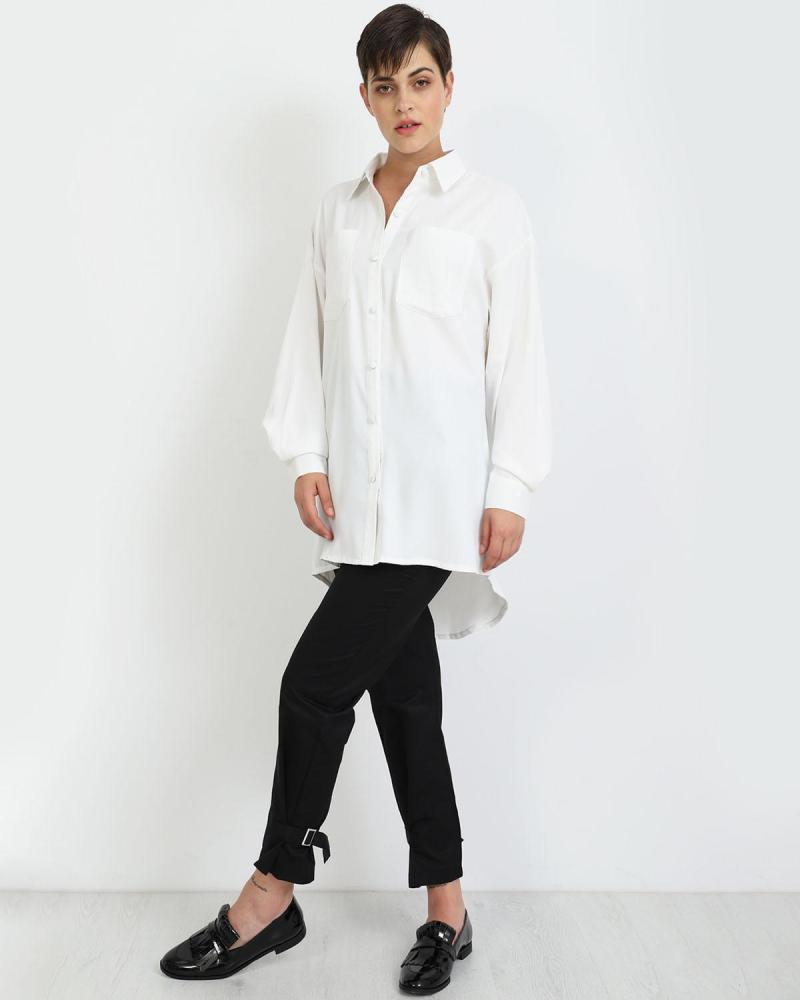 Weiß hemd