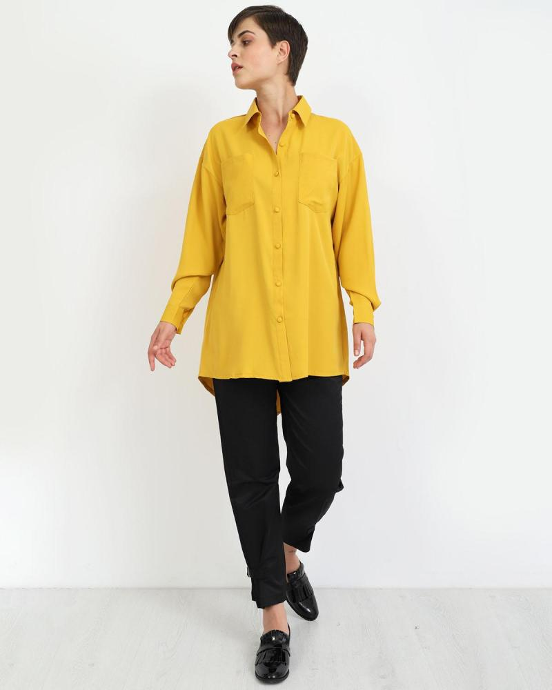 Πουκάμισο κίτρινο