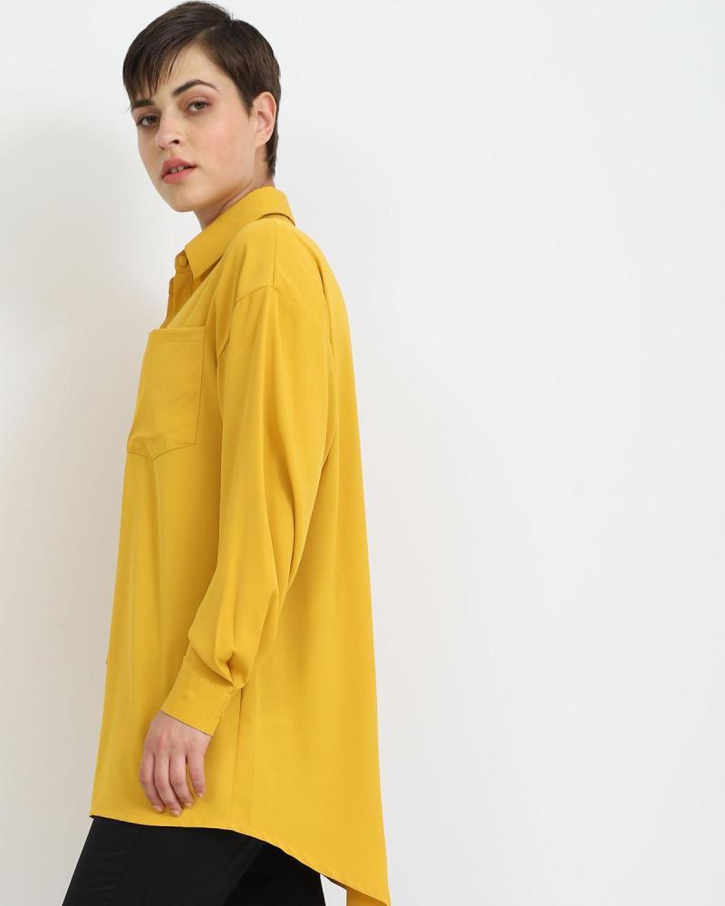 Gelb hemd