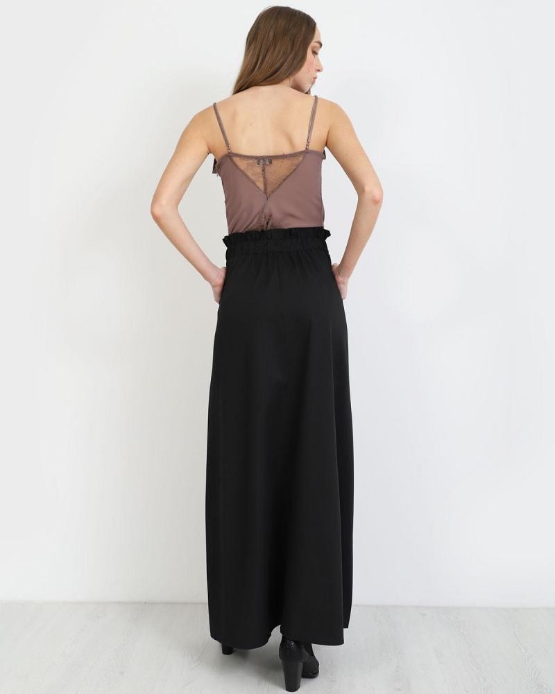 Μάξι φούστα μαύρη