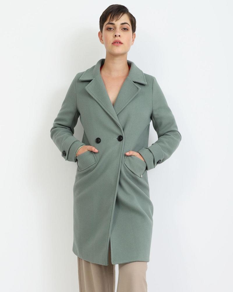 Grün mantel