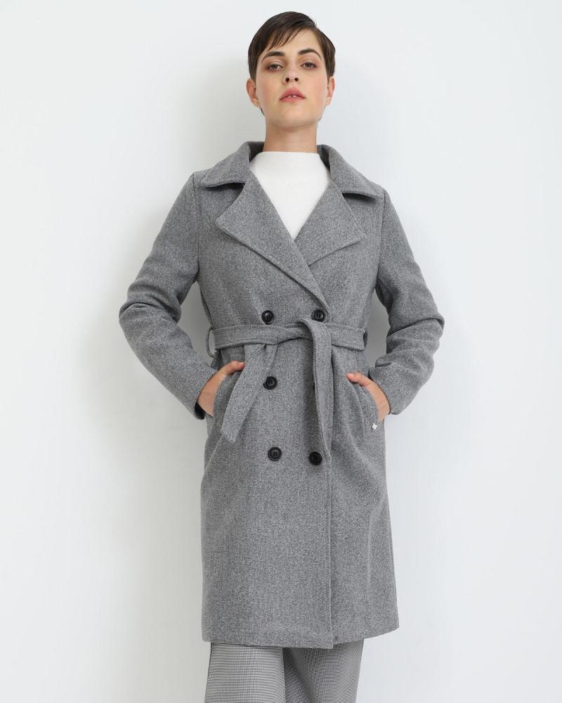 Grau mantel