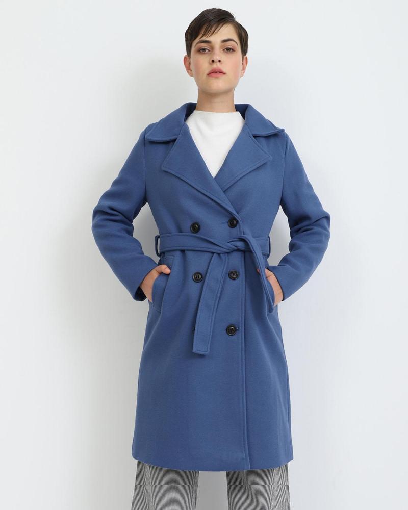 Blau mantel