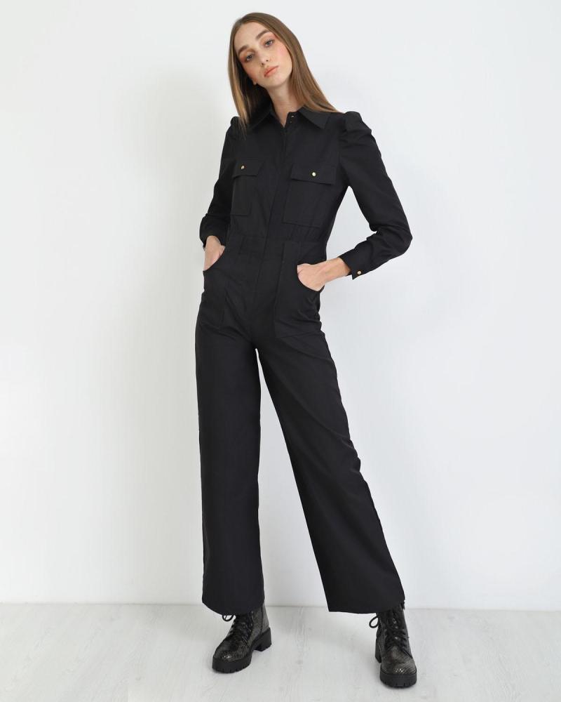 Schwarze overall