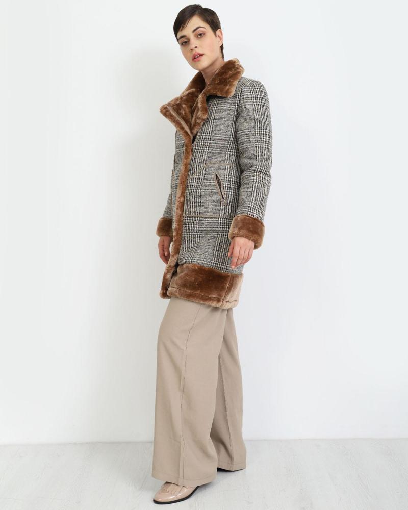 Παλτό μπεζ
