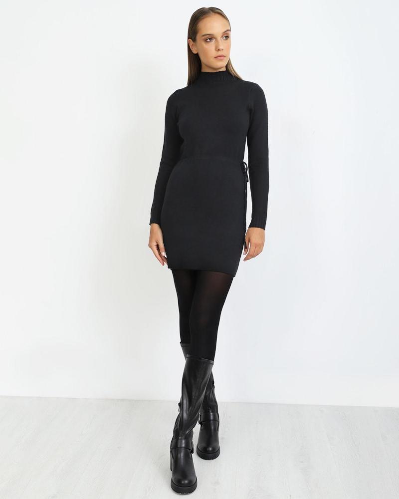 Schwarz hemdkleid