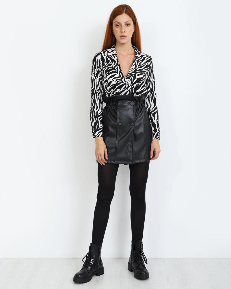 Μίνι φούστα μαύρη
