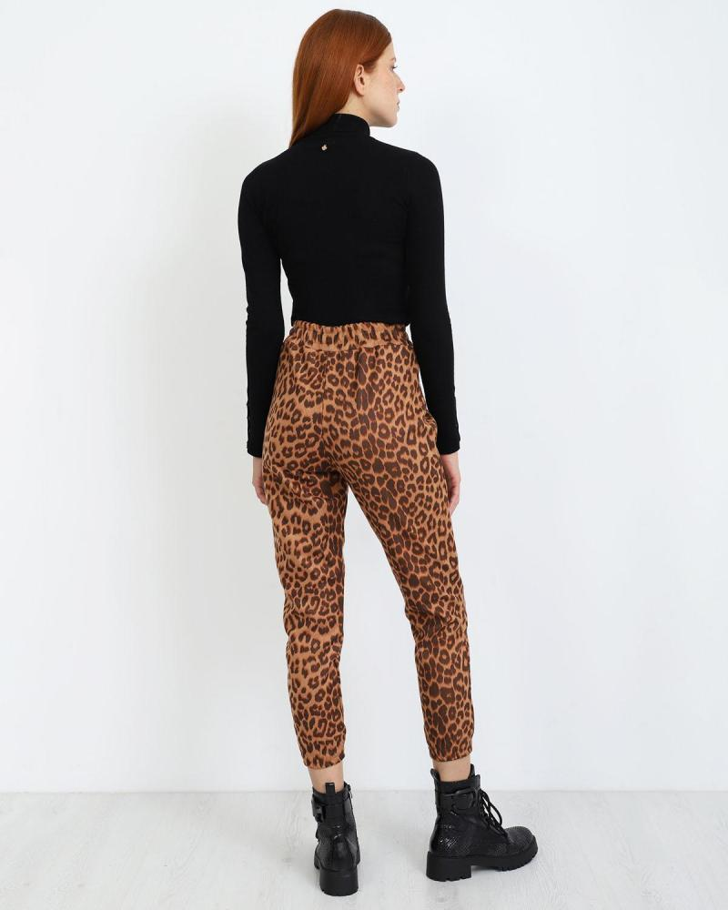 Παντελόνι animal print