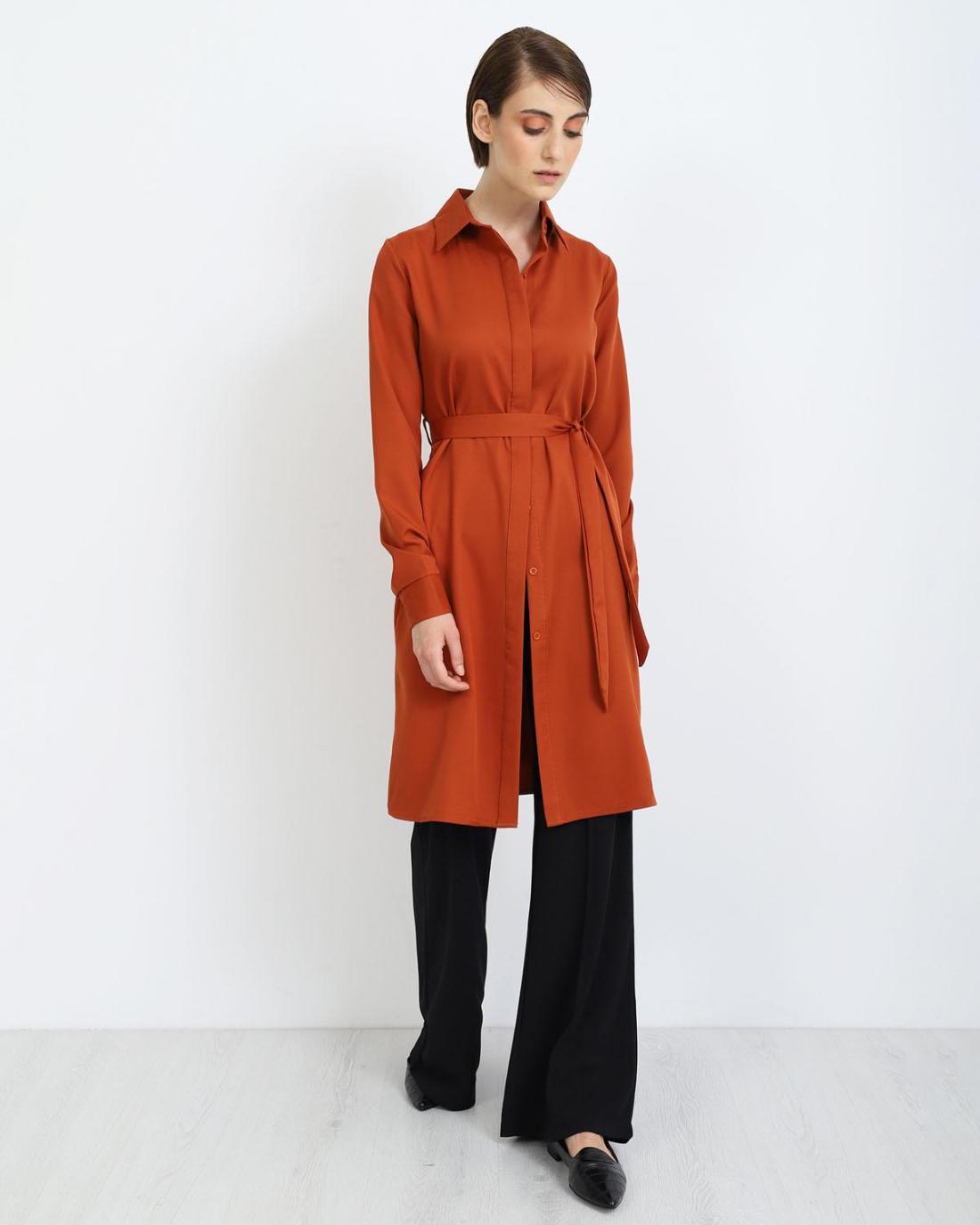 Φόρεμα κεραμιδί