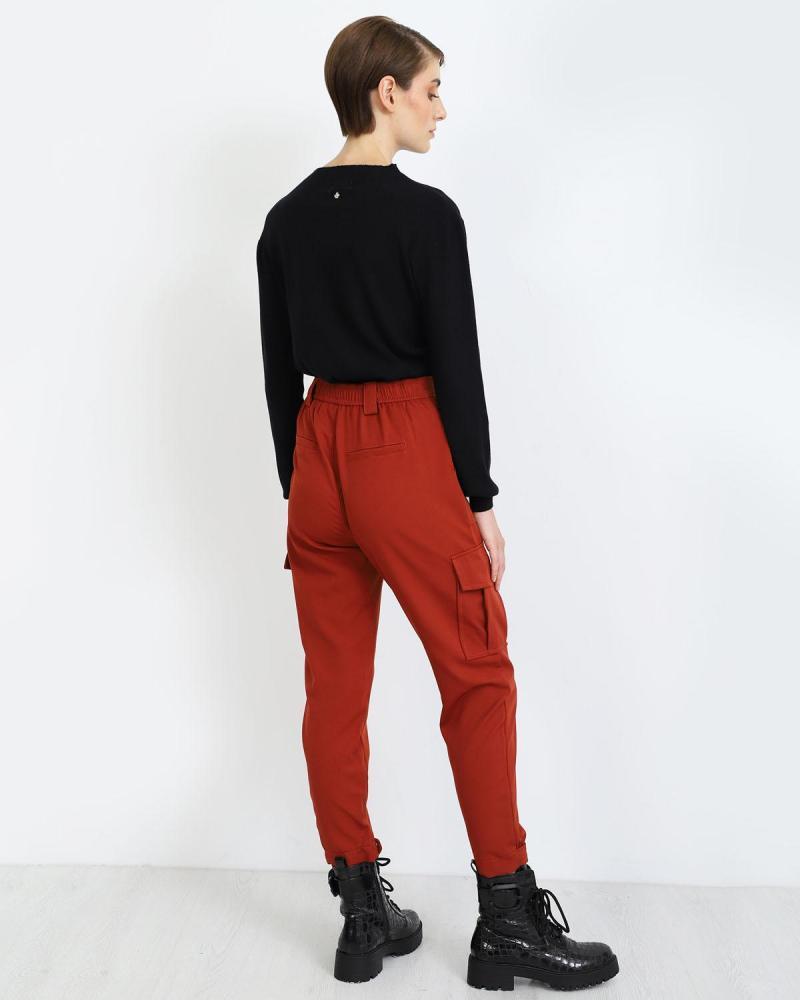 Παντελόνι κεραμιδί