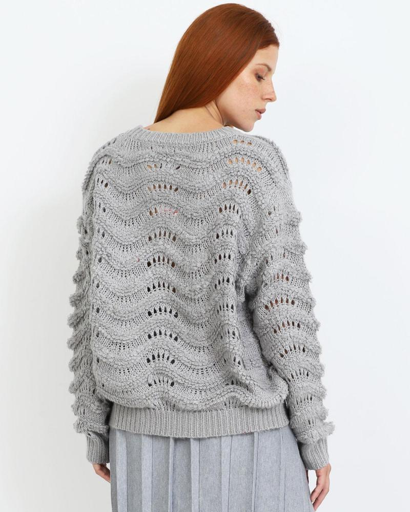 Grau pullover