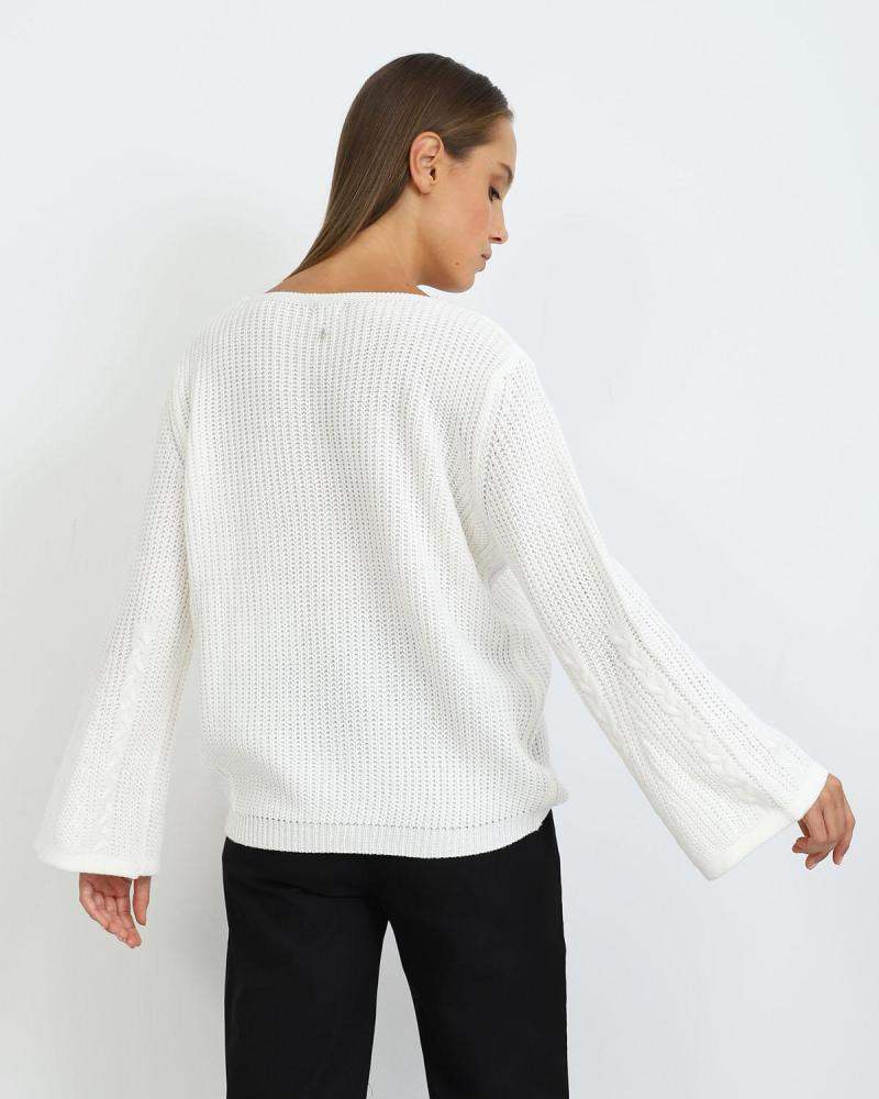 Weiß pullover