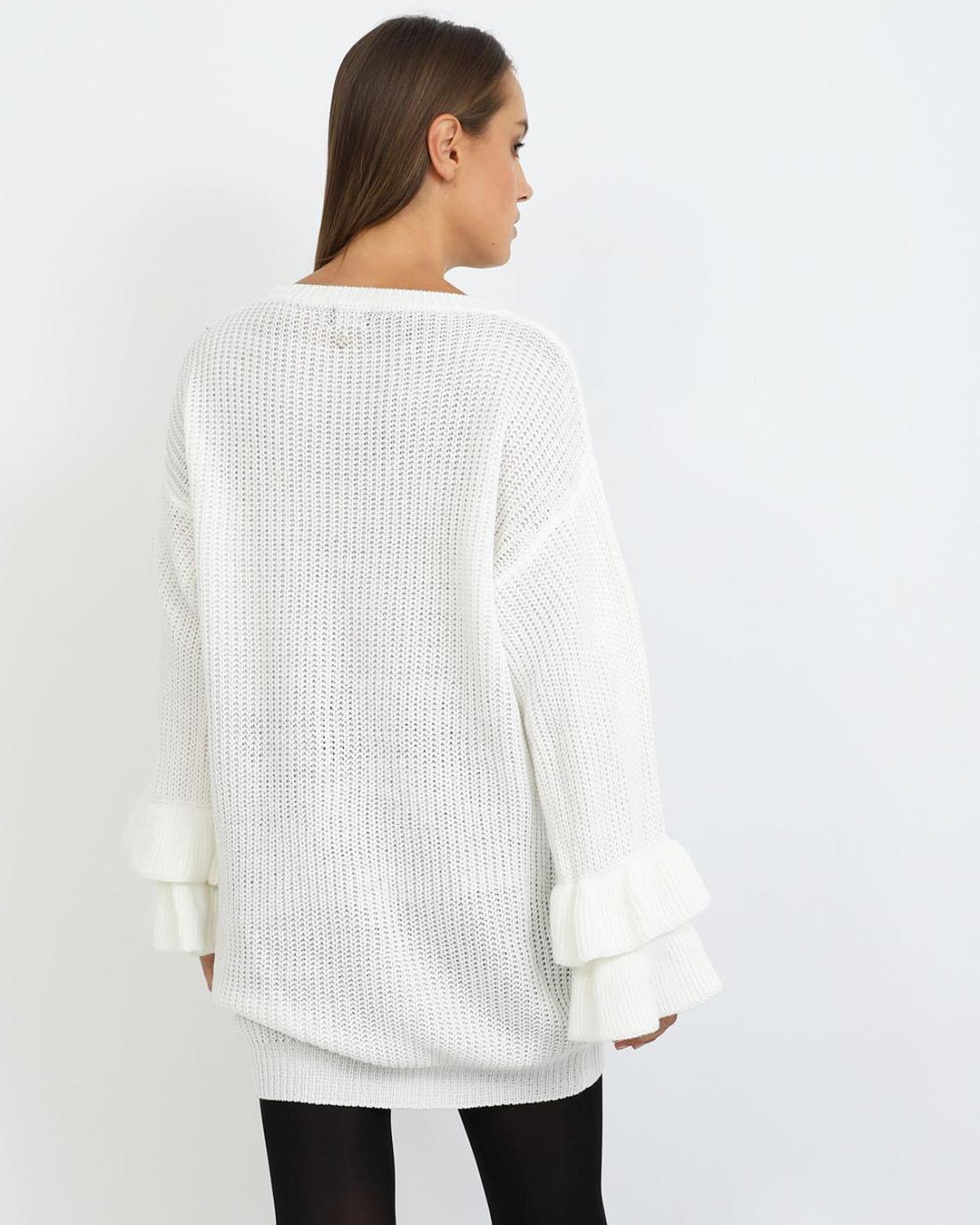 Μπλουζοφόρεμα άσπρο