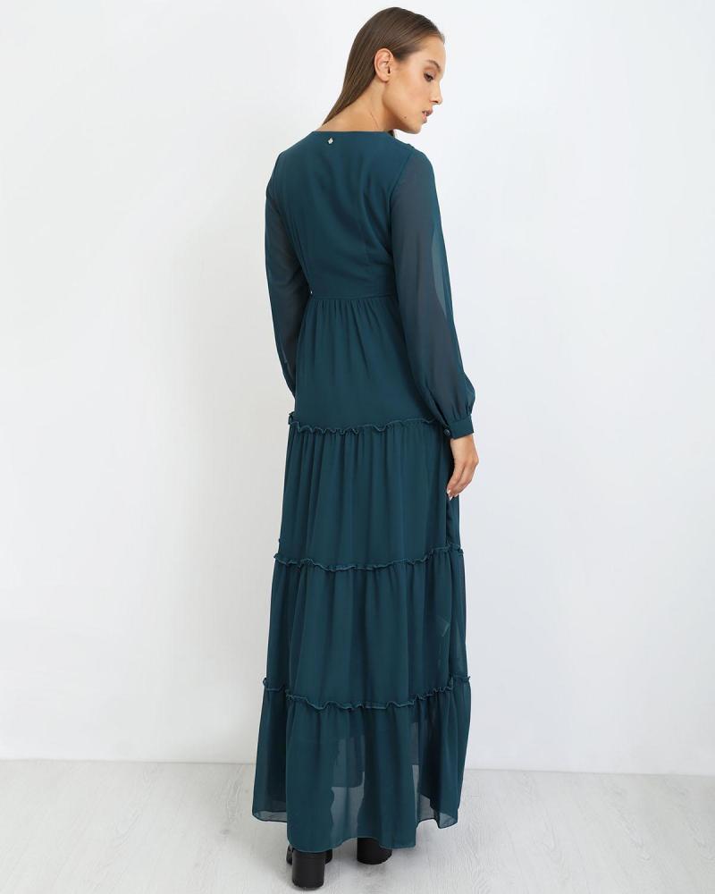 Φόρεμα πετρόλ