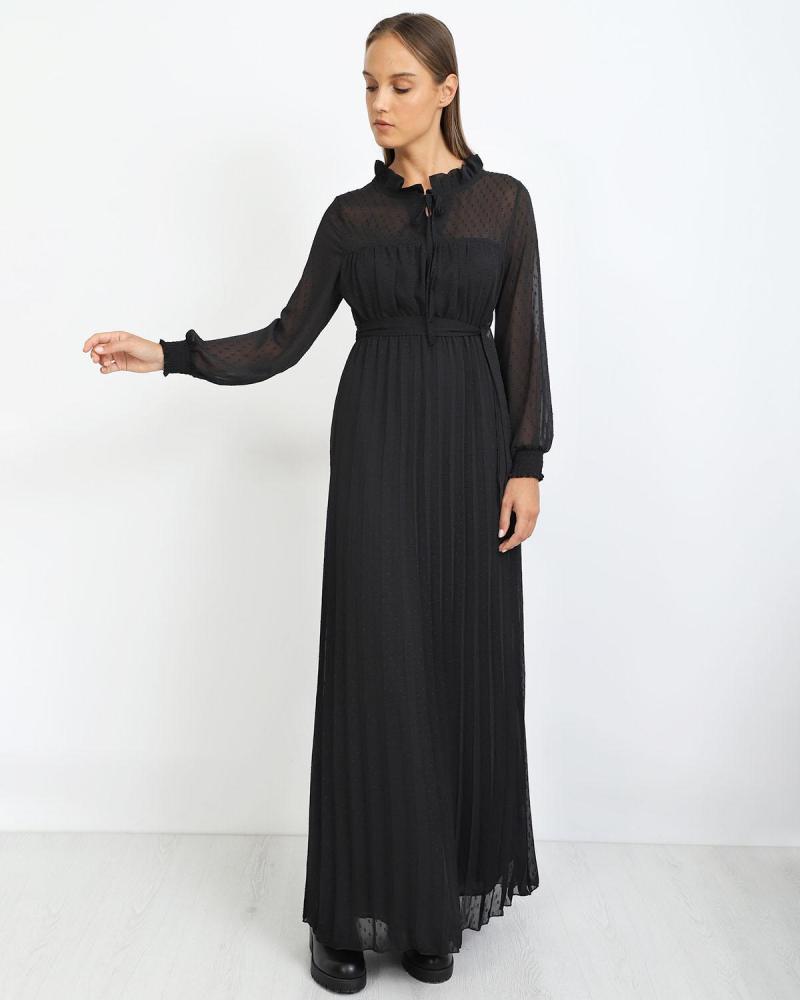 Μάξι φόρεμα μαύρο