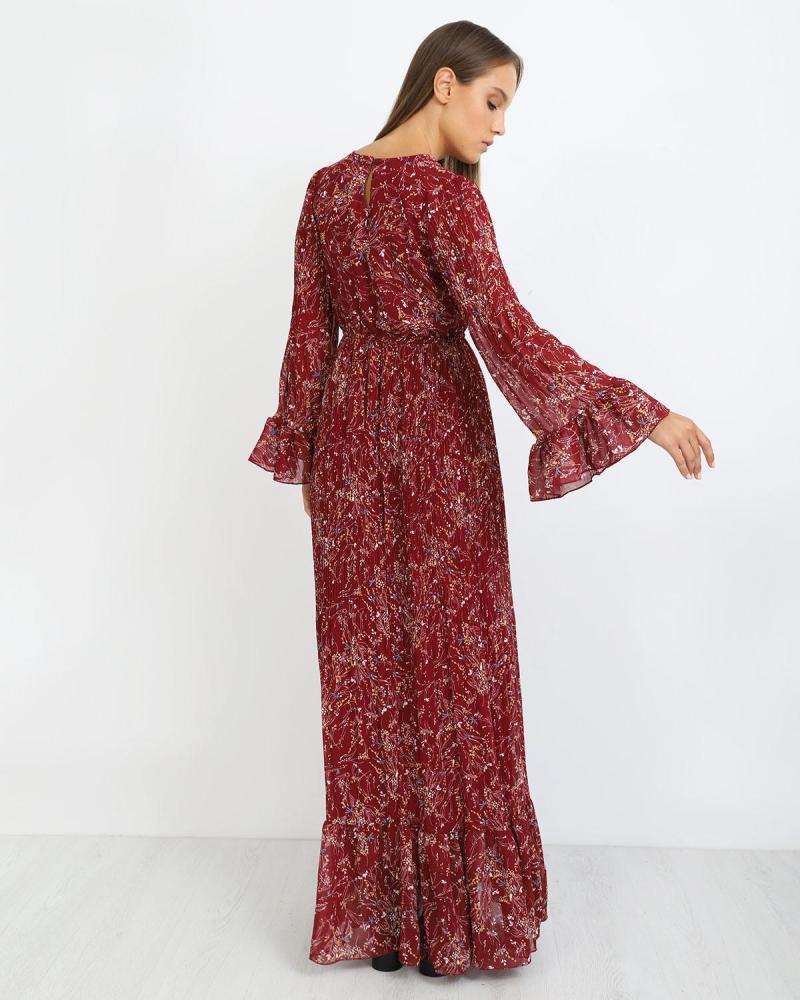 Μάξι φόρεμα κόκκινο