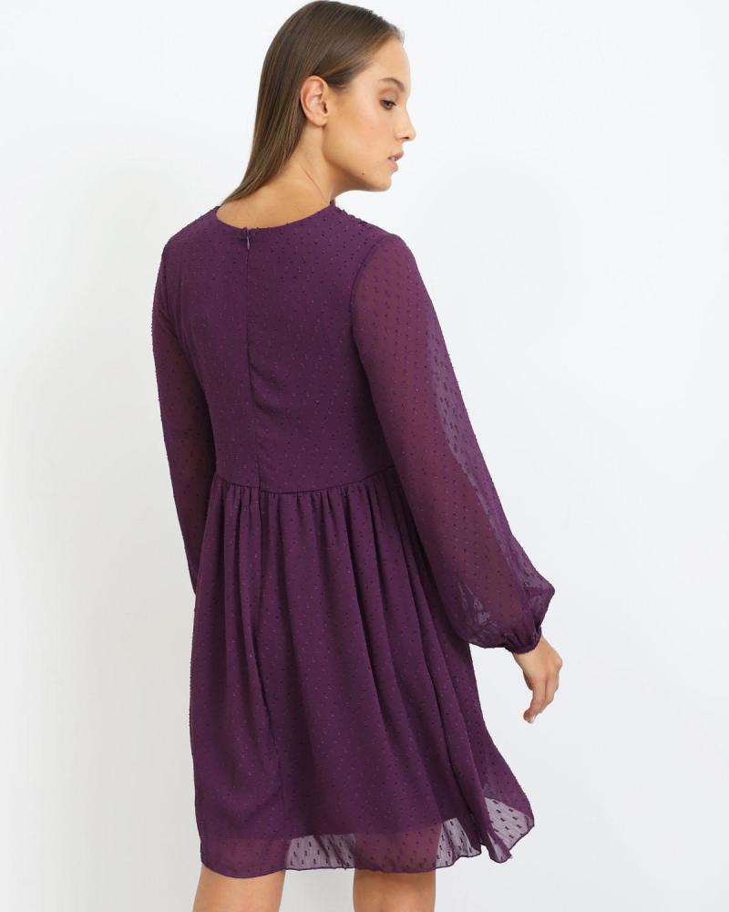 Lila kleid