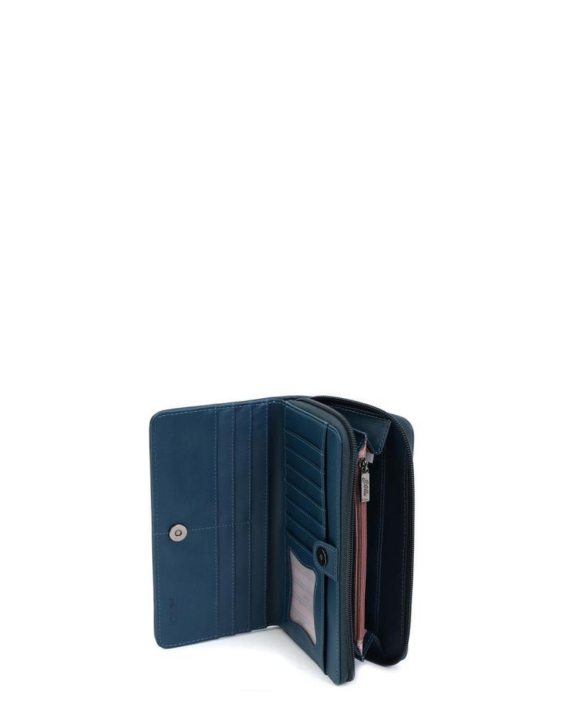 Πορτοφόλι μπλε