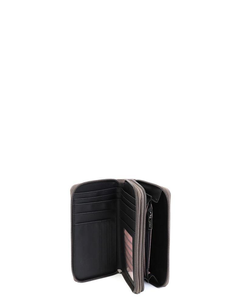 Grau portemonnaie