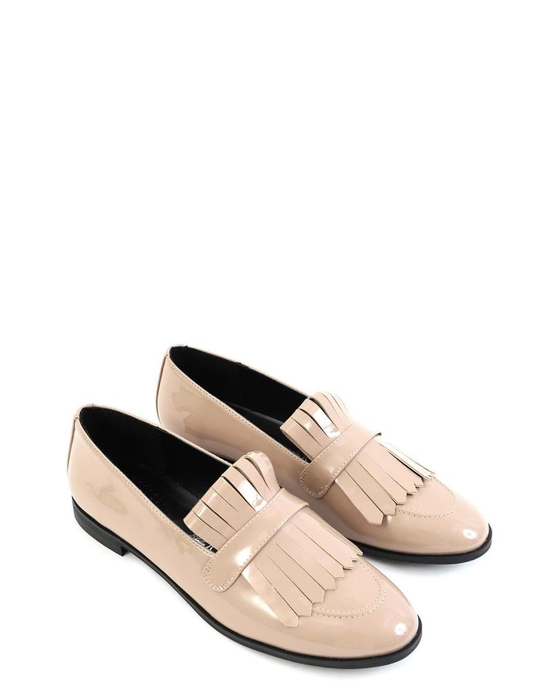 Loafers μπεζ