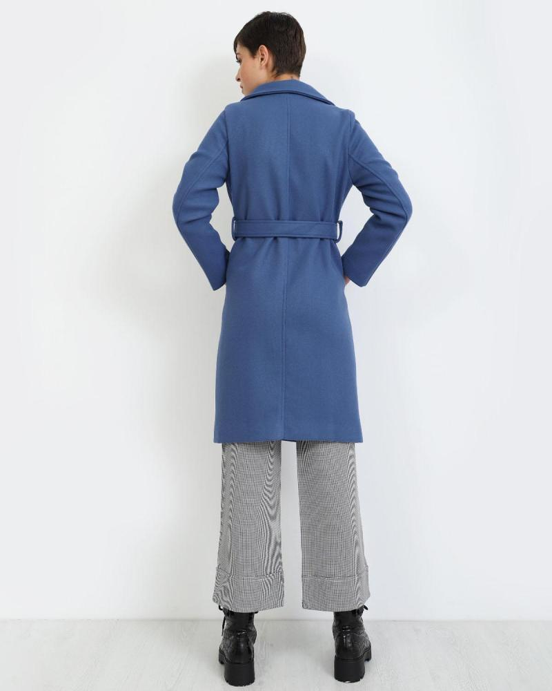 Παλτό μπλε