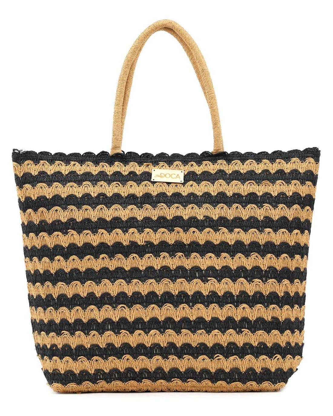 Details about  /Straw Tote Lots Of Room Beach Bag High Quality 15x16