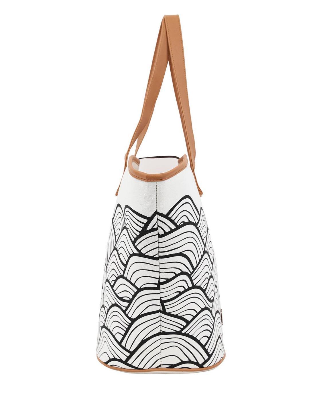 Τσάντα θαλάσσης άσπρη