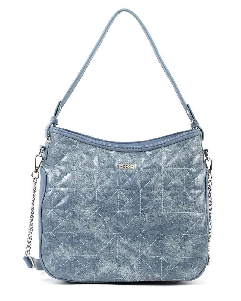 Light blue shoulder bag
