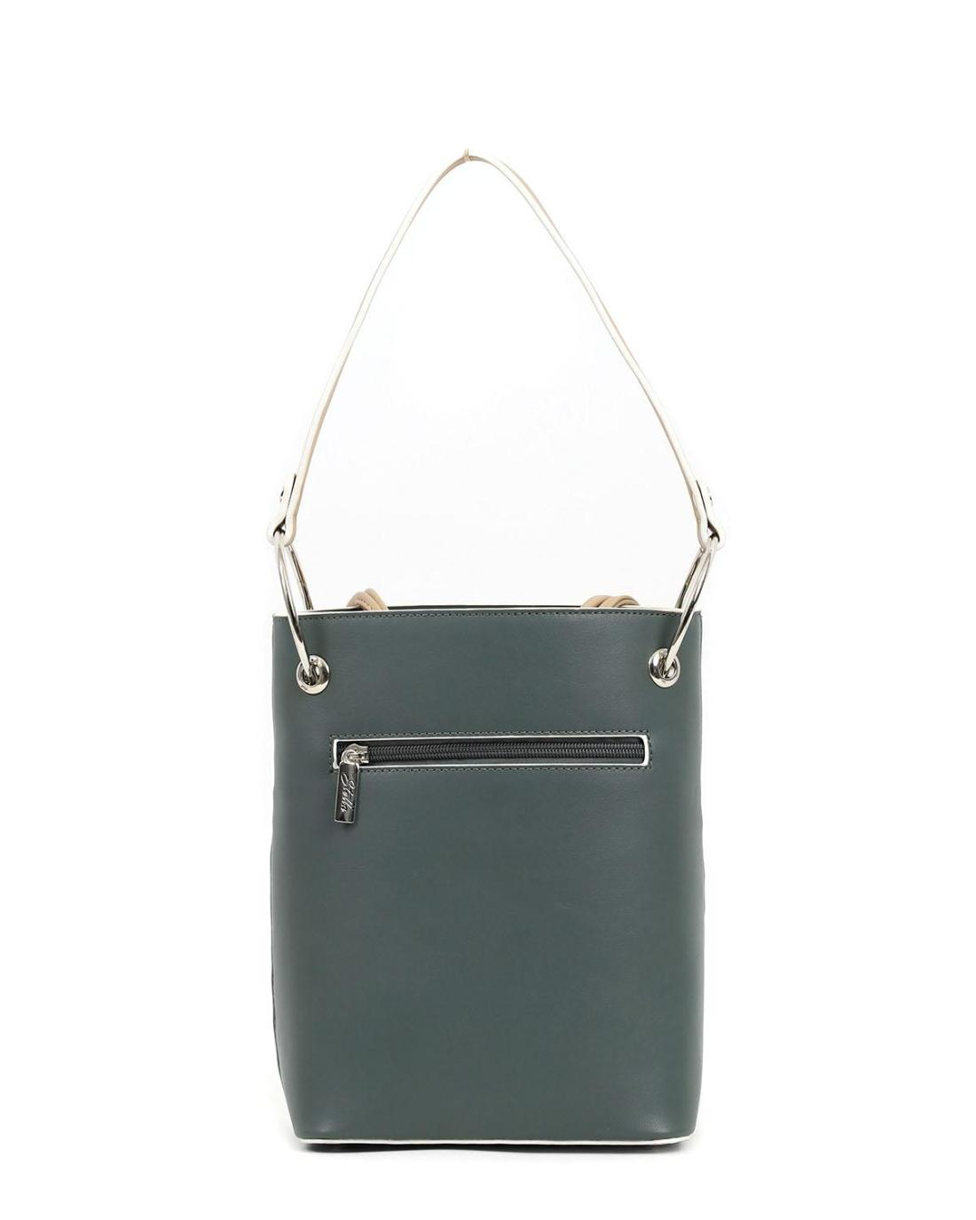 Καθημερινή τσάντα χειρός πράσινη