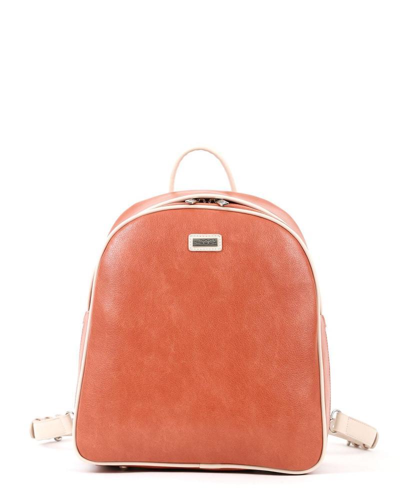 Orange rucksack