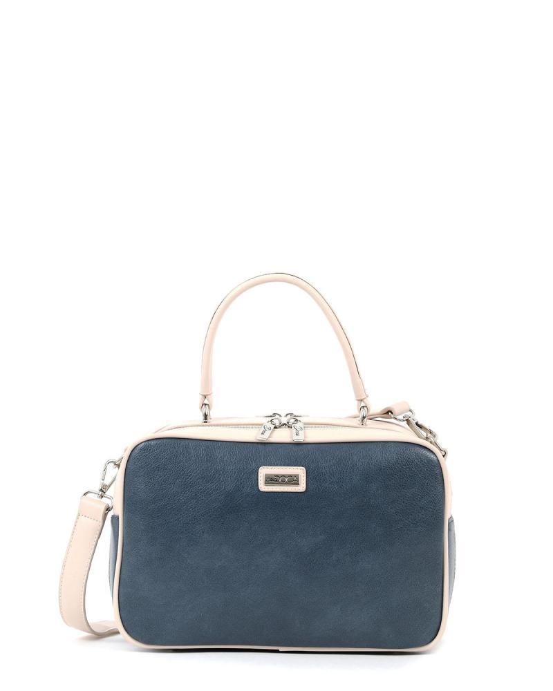 Καθημερινή τσάντα χειρός μπλε