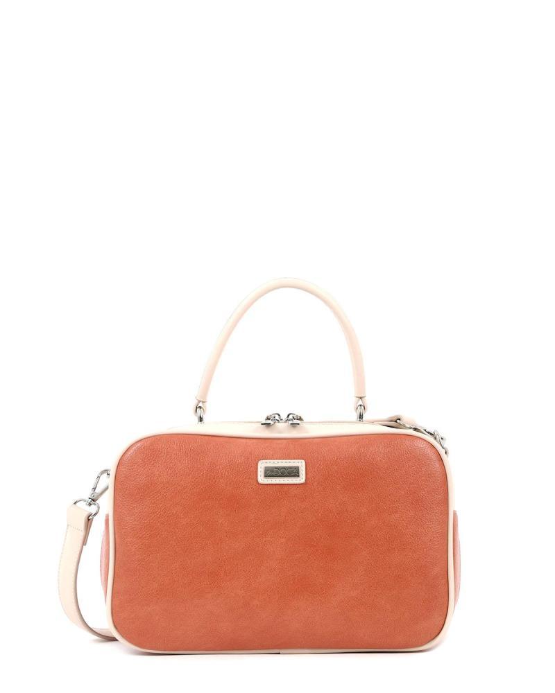 Καθημερινή τσάντα χειρός πορτοκαλί