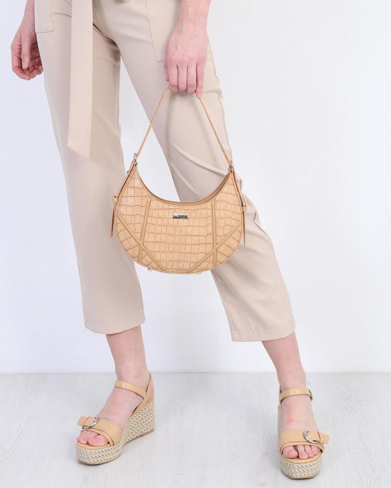Καθημερινή τσάντα ώμου άσπρη
