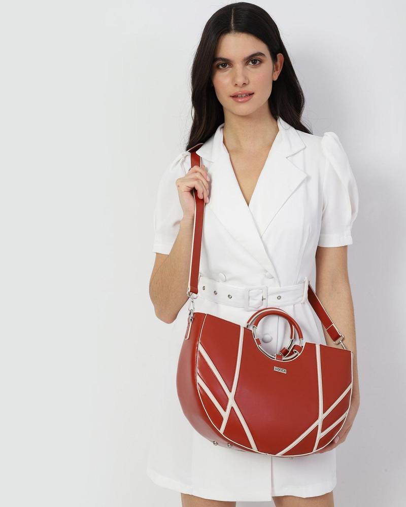 Καθημερινή τσάντα χειρός μπεζ