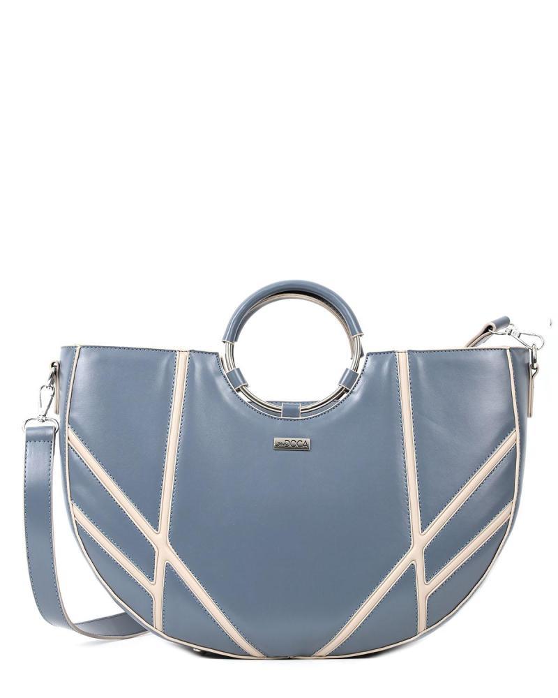 Καθημερινή τσάντα χειρός γαλάζια