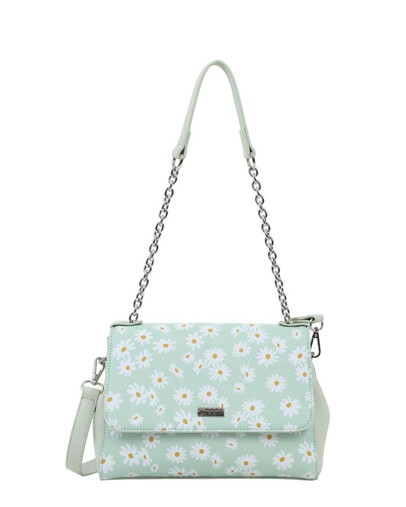 Mint green shoulder bag