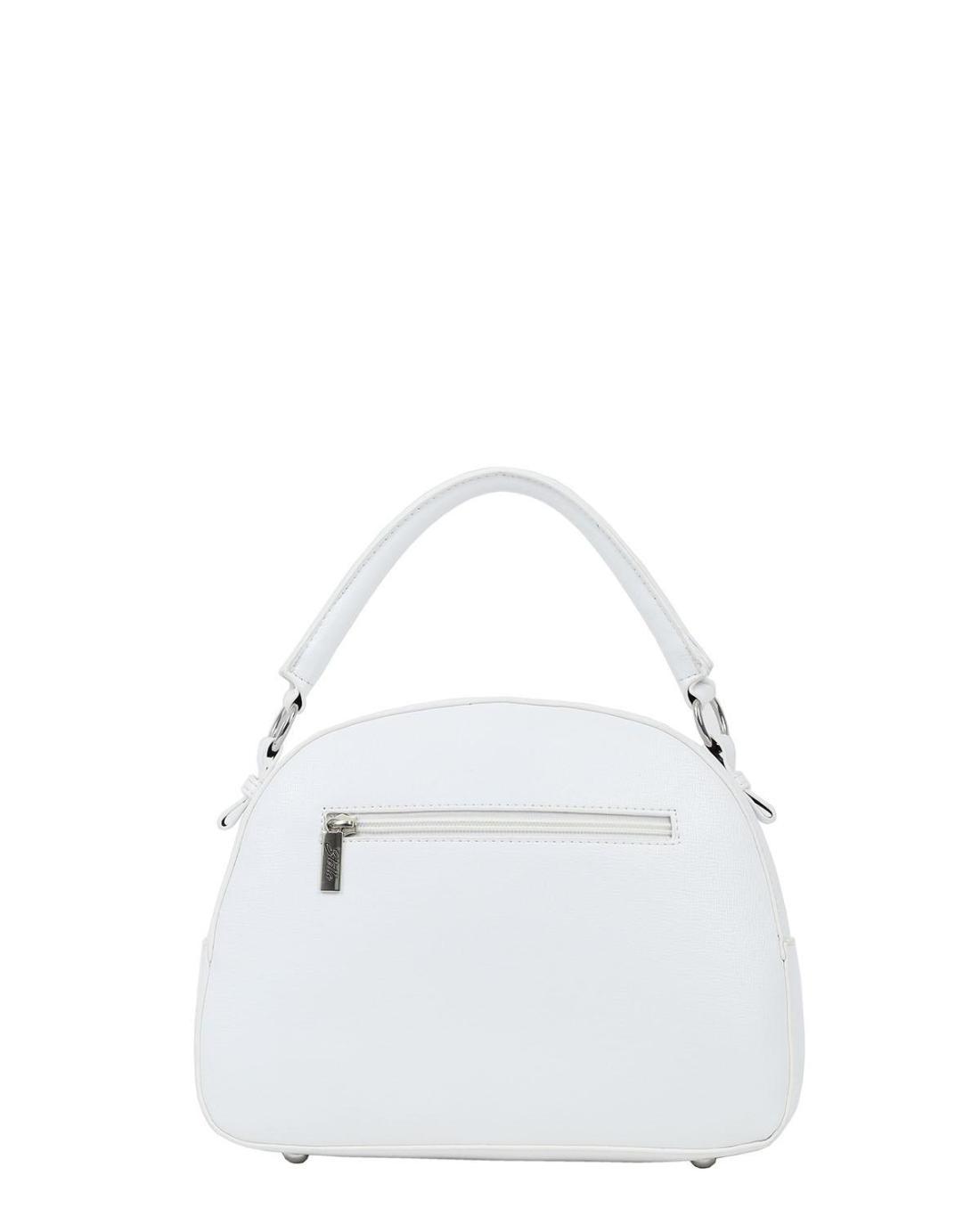 Καθημερινή τσάντα χειρός άσπρη