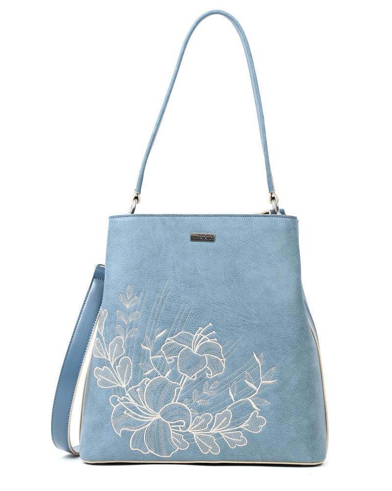 Τσάντα ώμου γαλάζια