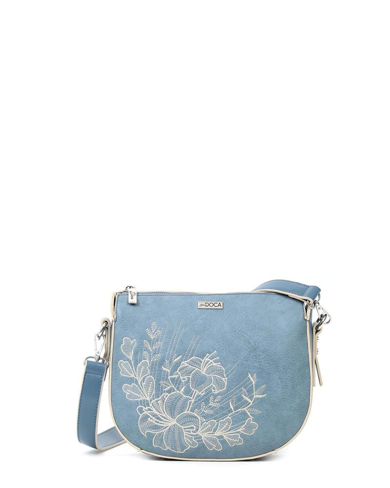 Light blue cross body bag