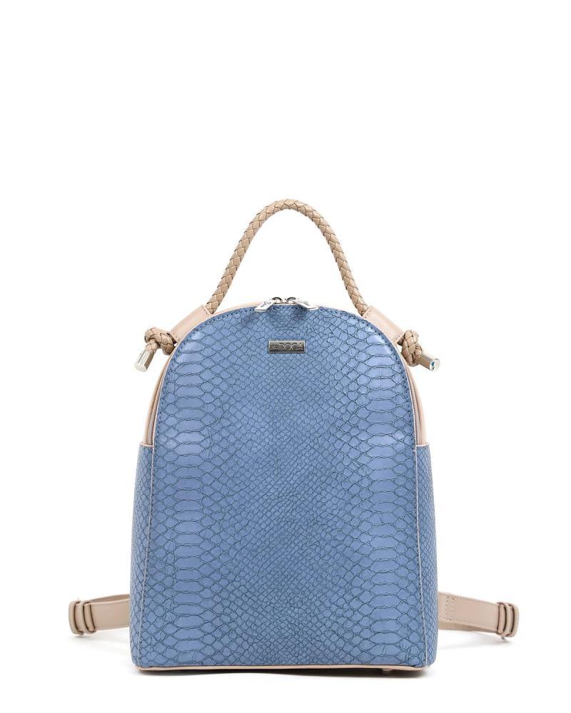 Hellblaue rucksack