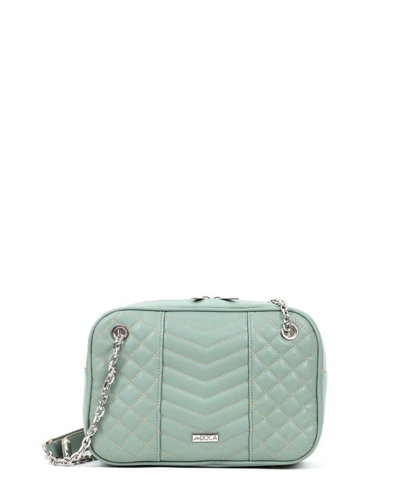 Minzgrüne schultertasche