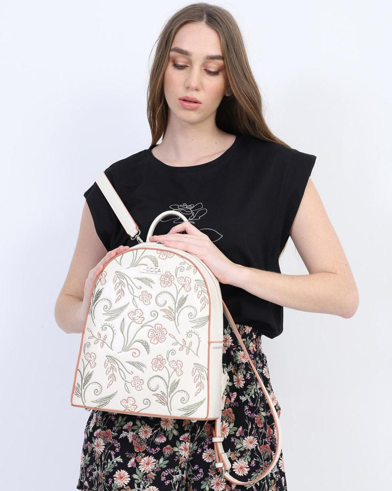 Τσάντα πλάτης μαύρη