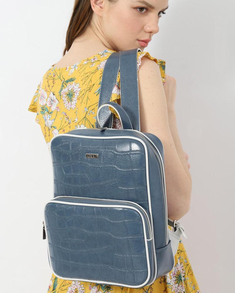 Τσάντα πλάτης κίτρινη