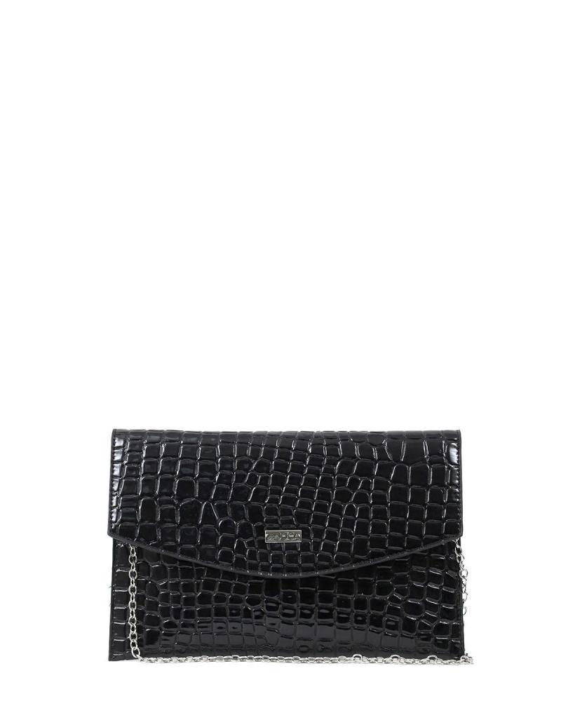 Τσάντα φάκελος μαύρη