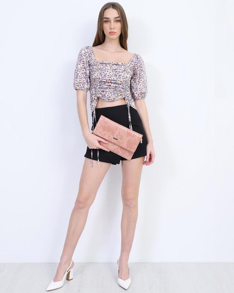 Rosa umschlagtasche