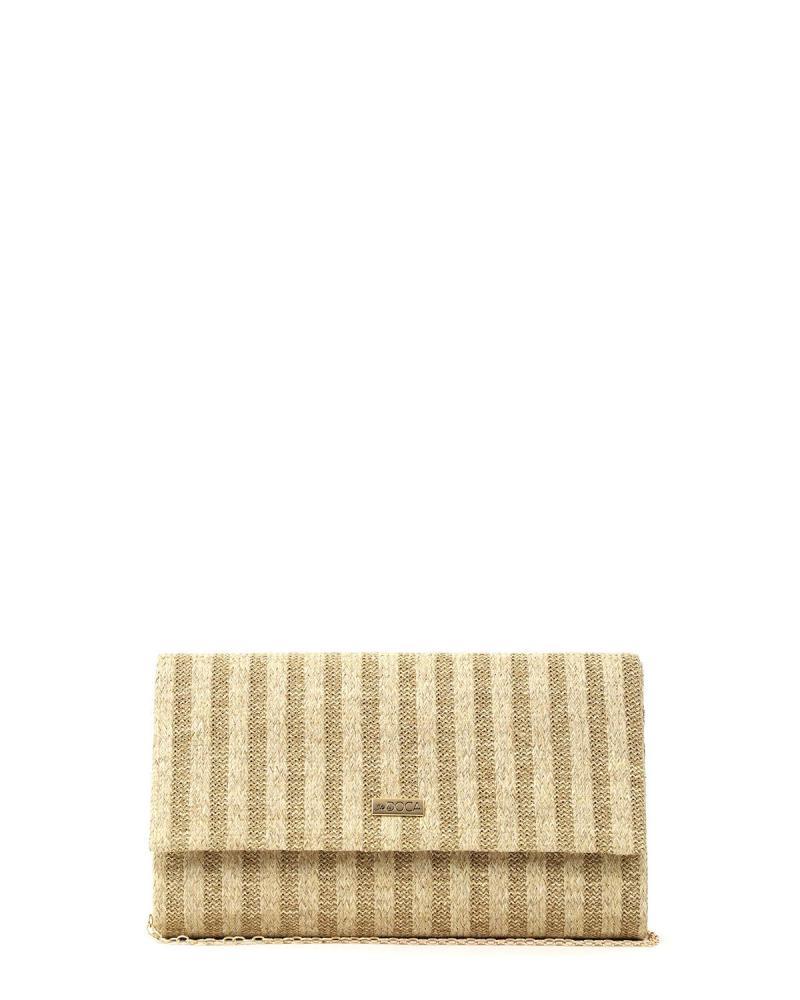 Beige envelope bag