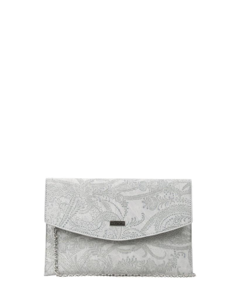 Grey envelope bag