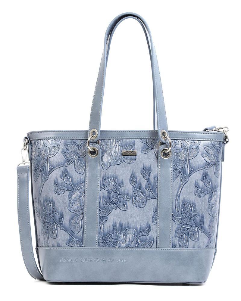 Καθημερινή τσάντα ώμου γαλάζια
