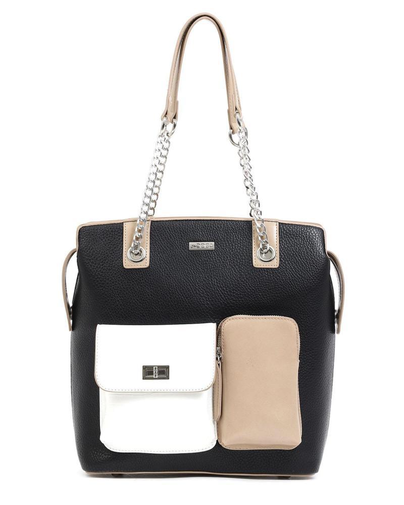 Καθημερινή τσάντα ώμου μαύρη