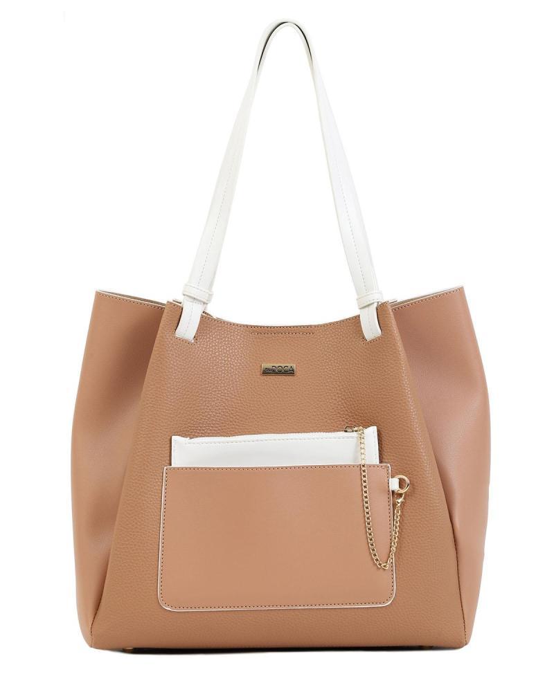 Camel shoulder bag